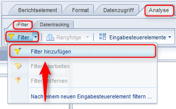 SAP BusinessObjects Web Intelligence - Filter Berichtebene
