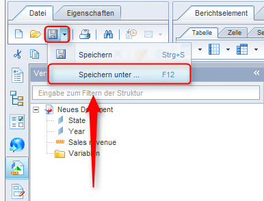 SAP BusinessObjects Web Intelligence - Sicherung BI